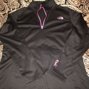 Like New North Face Pink Ribbon Jacket